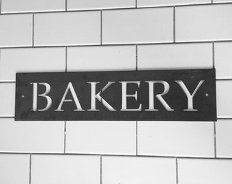 Metal Bakery Sign