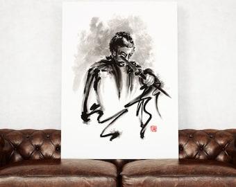 Samurai, samurai art, samurai paintings, ronin, japanese art, japanese warrior, japanese sword, japanese art