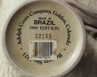 Vintage 1988 Edition Coors Stein #37165