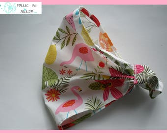 "scarf ""of the Flemish roses and flowers"" shake head or headband"