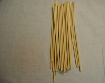 12 ct Wooden Wedding Cake Dowels
