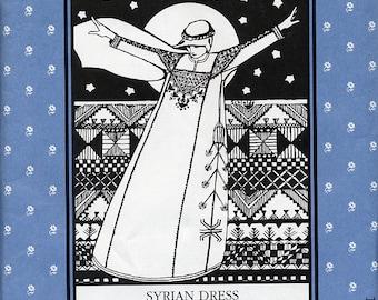 Syrian Dress, Folkwear Pattern 105