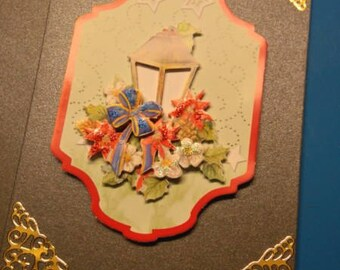 3D 901 hand made greeting card