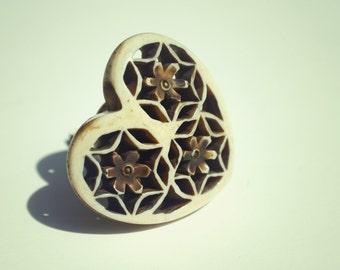 Heart Draw Knob /Drawer Pulls / Dresser Knobs / Wardrobe  Handles
