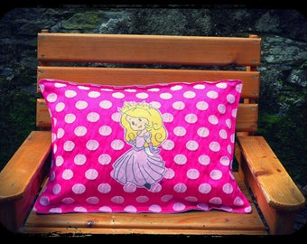 "cushion ""Inès Princess Castle ball!"""