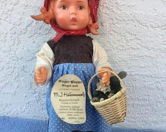 """Vintage Goebel Hummel limited edition 11"""" plastic doll"""