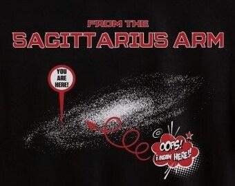 Mandela Effect T-shirt From the Sagittarius Arm