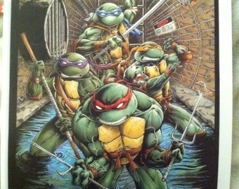 Teenage Mutant Ninja Turtles (Print)