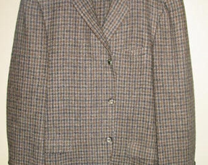 Men's Harris Tweed Cubbing Coat 42R