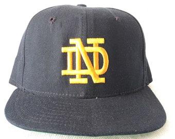 Vintage Notre Dame Hat - Lou Holtz Hat Size 6 7/8