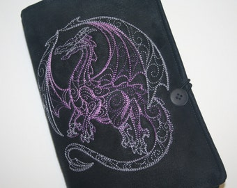 Dragon geborduurd boekomslag