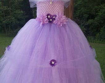 Purple or Pink Princess Tutu Dress