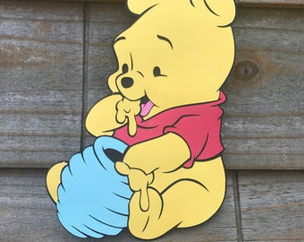 Baby Winnie the Pooh Tigger Piglet Eeyore cut out