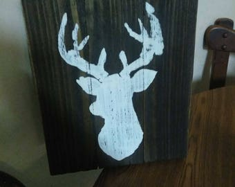 Wooden Buck Sign