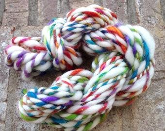 My Pretty Pet OOAK handspun art yarn 20 yards 36g 1.6 oz.