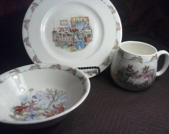 Royal Doulton Bunnykins Childrens Dish Set