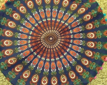 Brand New Indian Cushion Cover with hidden zipper