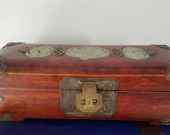 Asian Chinese jewelry box