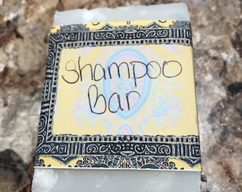 Coconut Oil Shampoo Bar