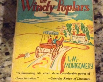Vintage Book; Anne of the Windy Poplars by L.M. Montgomery 3rd publishing 1940
