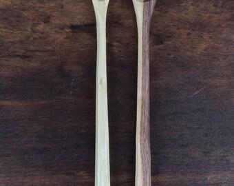 Hand Carved Wooden Spoon Cook Spoon Handmade Spoon Walnut Spoon