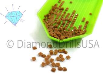 DMC 420 SQUARE 5D Diamond Painting Resin Drills Beads DMC 420 Dark Hazelnut Brown