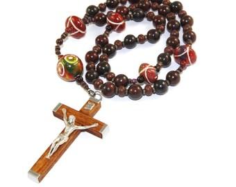 Nazaret Rosenkranz, Jasper Holz & Ton, für Männer oder Frauen - Christian Gebetskette