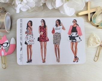Ladies in Prints, Brown Skin, Fashion Girls