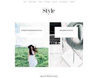 Style - A Responsive WordPress Blog Theme
