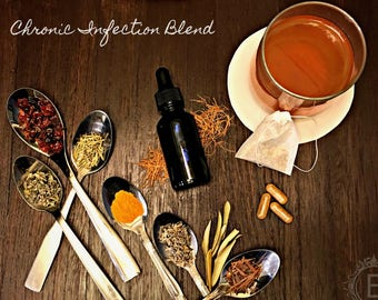 Chronic Infection Blend, Knight Holistic Herbal Tea