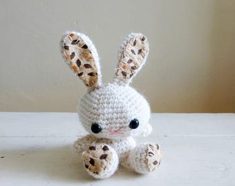 Cupcake the Bunny, cute stuffed animal, bunny stuffed animal