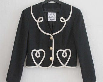 Moschino Cheap & Chic awesome jacket superretro, RARE collectible !