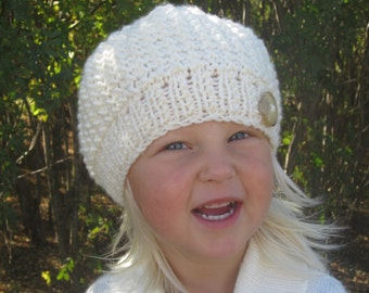 KNITTING PATTERN Hat - Hat knitting pattern - Baby hat pattern - Knit hat pattern - Baby knit pattern - Knit pattern hat - Girl hat pattern