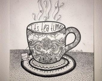 Its tea time