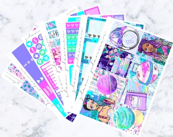Space Girls: April Sub Luxe Sticker Kit