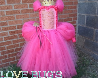 Pretty in Pink Princess Tutu Dress