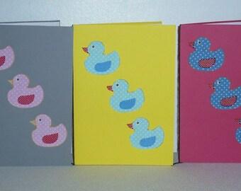 Set of five patterns ducklings pack 1