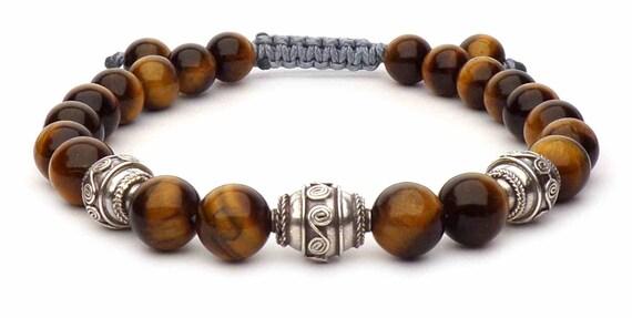 shamballa bracelet Eye of a tigre