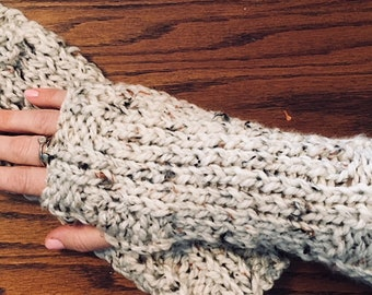 Pattern PDF for Mrs. Fitz fingerless gloves - Pattern only!