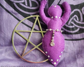 Goddess of the Violet altar/Goddess Magic Altar