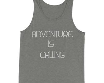 Adventure Is Calling  Jersey Tank Top for Men