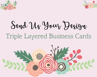 Print - Business Card - Triple Thick Card