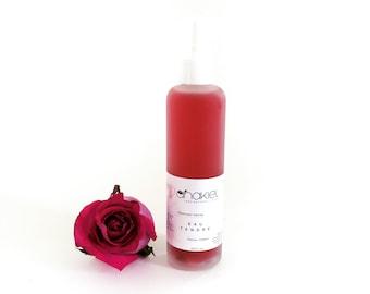 Floral Facial Toner EAU TENDRE. Rose Floral Water. Hibiscus flower. All skin type. Facial Mist. Body Mist. Pillow Mist 120ml