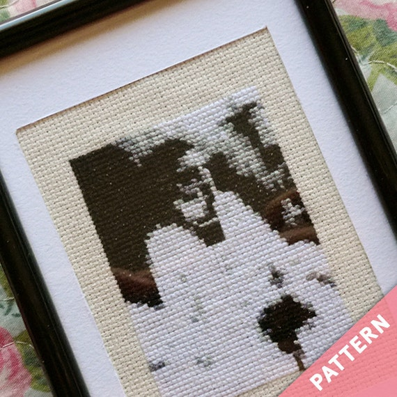 Begotten · Horror Cross Stitch Pattern