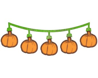 "Cheery Lynn Designs Die ~ Pumpkin Swag, 1"" x 3"" B197 ~"
