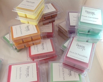 SPECIAL OFFER -NEW Scents Available -Introductory Pricing -Soy Wax Clamshell Melt Tarts- Maximum Scented
