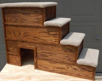 24 x 42  4 step large top platform pet step