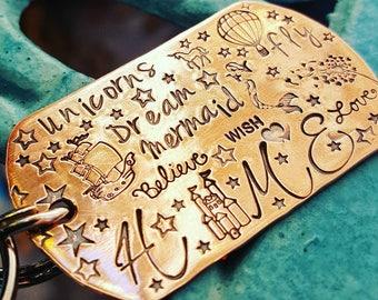 Märchenhafte Keychain-My Hause wunderlich Schlüsselanhänger-Home Schlüsselanhänger-Freundin Geschenk-Zuhause ist, wo mein Herz - inspirierende Schlüsselanhänger-beste Freundgeschenk