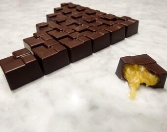 Dark Chocolate Coconut Caramel |9 piece|