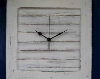 Cream Shabby Chic Wall Clock